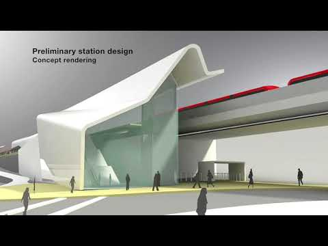 Green Line LRT: Architectural Concept