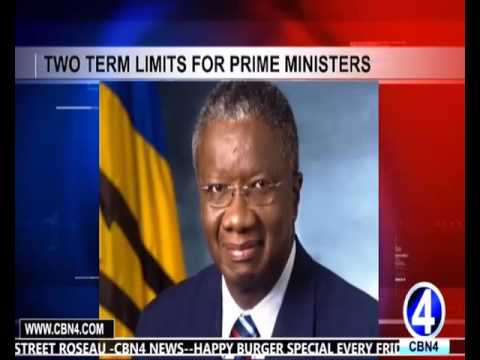 ST KITTS PRIME MINISTER RECOMMENDS TWO TERM LIMIT FOR PRIME MINISTER'S' OFFICE
