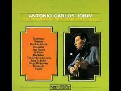 Antonio Carlos Jobim -  ♫ One Note Samba ♫