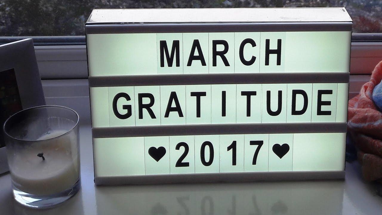 march gratitude life as a tourist youtube