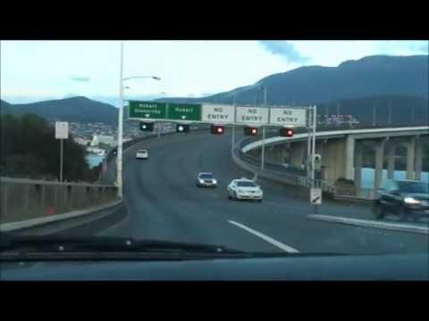 Drive from Hobart, East to Hastings, Tasmania