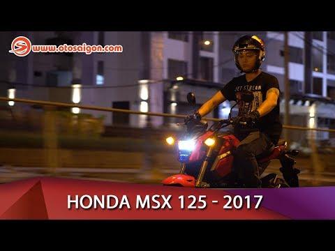 Otosaigon - Đánh giá Honda MSX 125 2017 - Chiếc xe để chơi đúng nghĩa