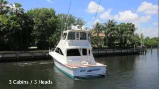 2004 Ocean Yachts 57' Enclosed Bridge Convertible