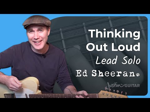 Thinking Out Loud [LEAD SOLO] - Ed Sheeran - Guitar Lesson (ST-339)