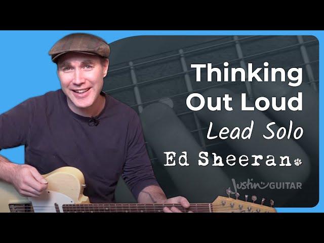Supermarket Flowers - Ed Sheeran | JustinGuitar com