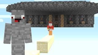 Ich drehe seine ganze Base um 180° 😉💥.. Minecraft LUCKY BLOCK BEDWARS