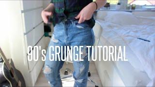 90's grunge tutorial