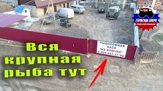 "Рыболовная База ""На Крючке"" Глазами Чаек."