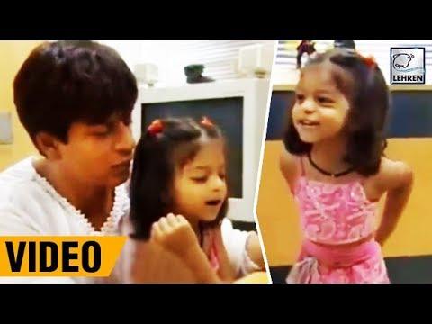 Suhana Khan Cutely Shouting At Shah Rukh Khan | Throwback Video | LehrenTV Mp3