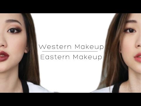 Asian vs Western Makeup | 亞洲 vs 歐美妝容