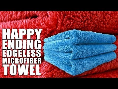 Happy Ending Microfiber Towel - Chemical Guys Premium Car Care thumbnail