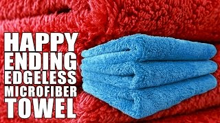 Happy Ending Microfiber Towel - Chemical Guys Premium Car Care