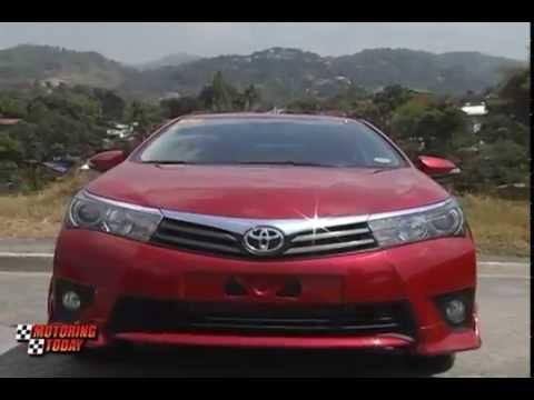 Motoring Today Showcase Toyota Altis 2014