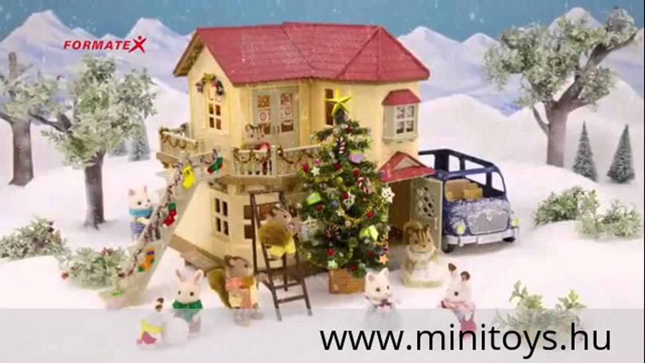 43faac71949c Sylvanian Families: Ház világítással - YouTube