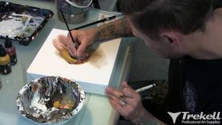 "Greg ""Craola"" Simkins Glazes with Trekell Transparent Paints"
