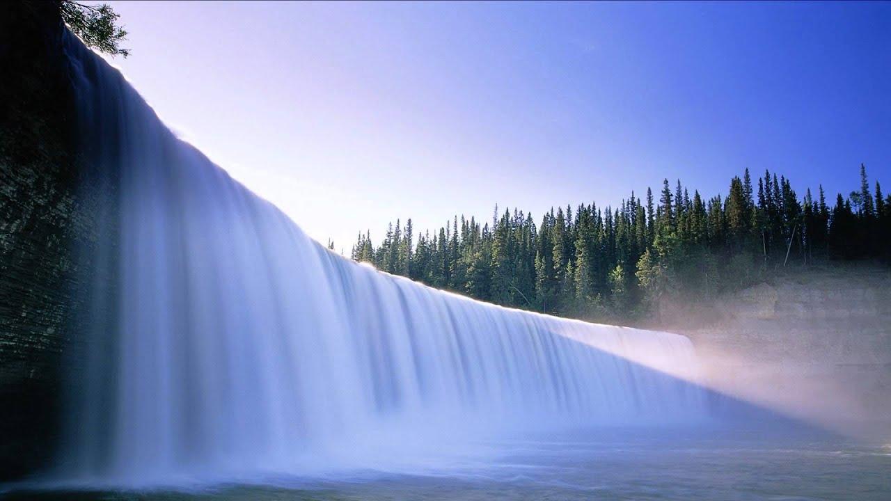 Водопады на рабочий стол скачать обои - YouTube