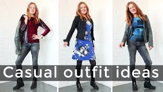 Casual style for women over 40 - casual outfit ideas for women over 40