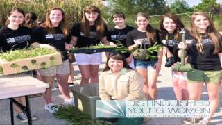 Distinguished Young Women of Okaloosa County 2016 Video