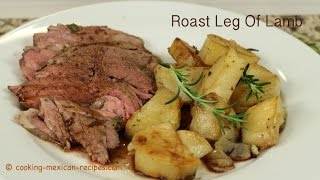 Roast Leg Of Lamb With Pesto Crust By Rockin Robin