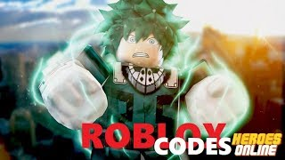 [New Codes] Roblox Heróis Online Codes 2019 - HEROES ONLINE FREE! 😱