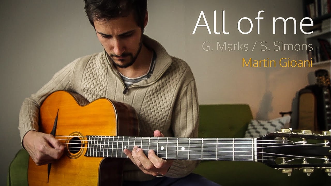 All of Me (gypsy jazz) + Free TAB + Backing Track