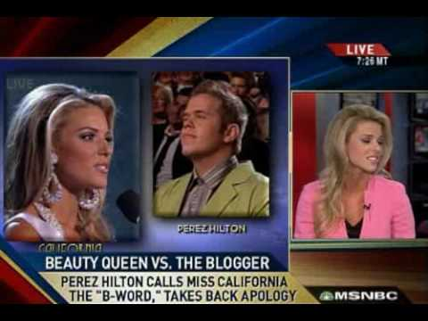miss california on same sex marriage