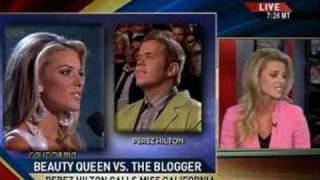 Miss California's Opinion on Same-Sex Marriage