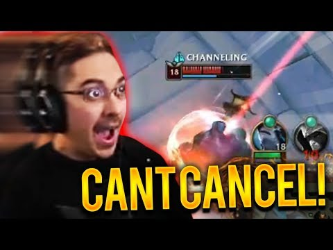 D CANE IS IN HIS BASE...HE CAN'T CANCEL HIS TP!!!! - Trick2G