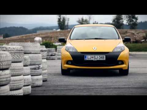 2010 Renault Clio Rs Test Youtube