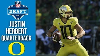Justin Herbert | Los Angeles Chargers |  Quarterback | Oregon | 2020 NFL Draft Profile