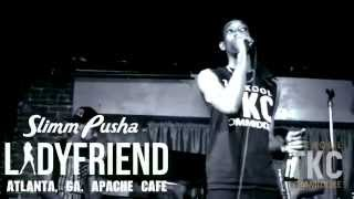 Slimm Pusha Walks Off The Street and Right On To A Stage @ Apache Cafe