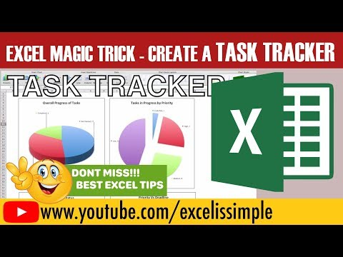 How to design your own task tracker, To Do List in excel