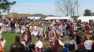 Poarch Creek Indian 43rd Annual Thanksgiving Pow Wow - Grand Entry 2013