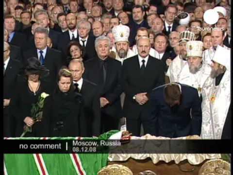 Alexiy II funerals