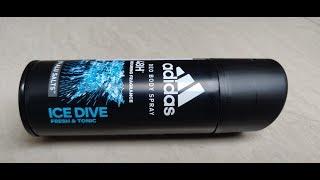 ADIDAS Men Ice Dive Deodorant Unboxing