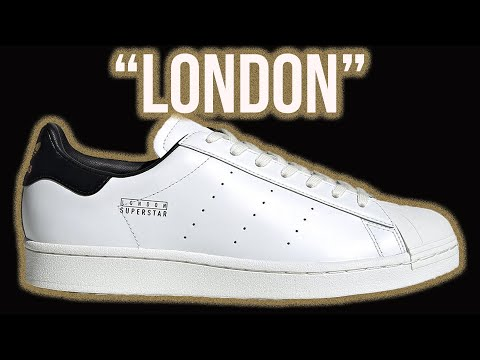 """Adidas Superstar Pure """"London"""" with Crisp Premium Monochromatic Leather 