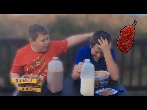 Two Kids Cry After Eating CAROLINA REAPER (The World's Hottest Pepper)