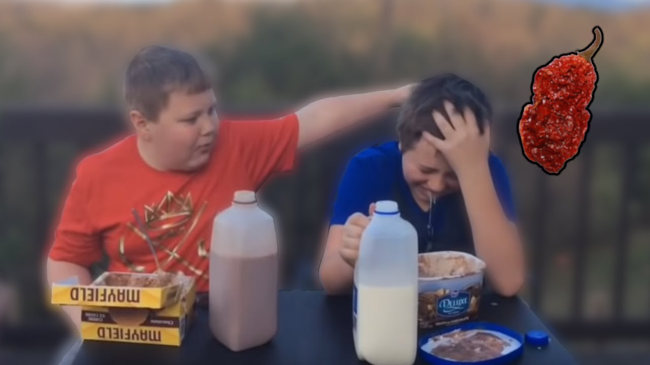 Two Kids Cry After Eating Carolina Reaper The World S