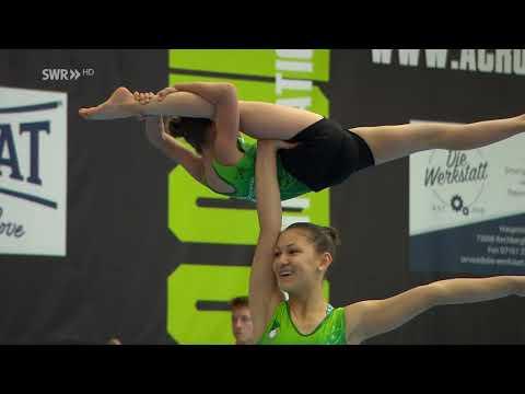 Acrocup Albershausen 2019 Sportakrobatik | Impressions Best of SWR