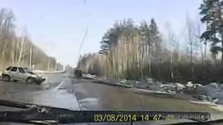 2014年4月の交通事故動画まとめ。ドライブレコーダー 3