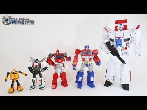 Fans Toys FT-10 Phoenix - Masterpiece Jetfire / Skyfire Preview