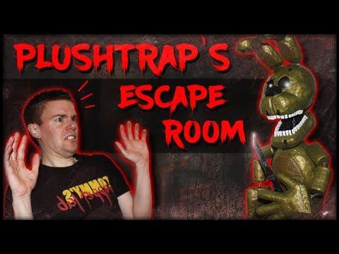 PLUSHTRAP'S NIGHTMARE ESCAPE ROOM! (Halloween Special)