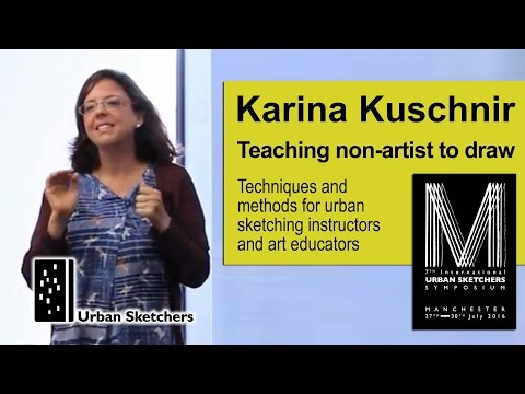 Teaching Non-Artists to Draw  -  Karina Kuschnir