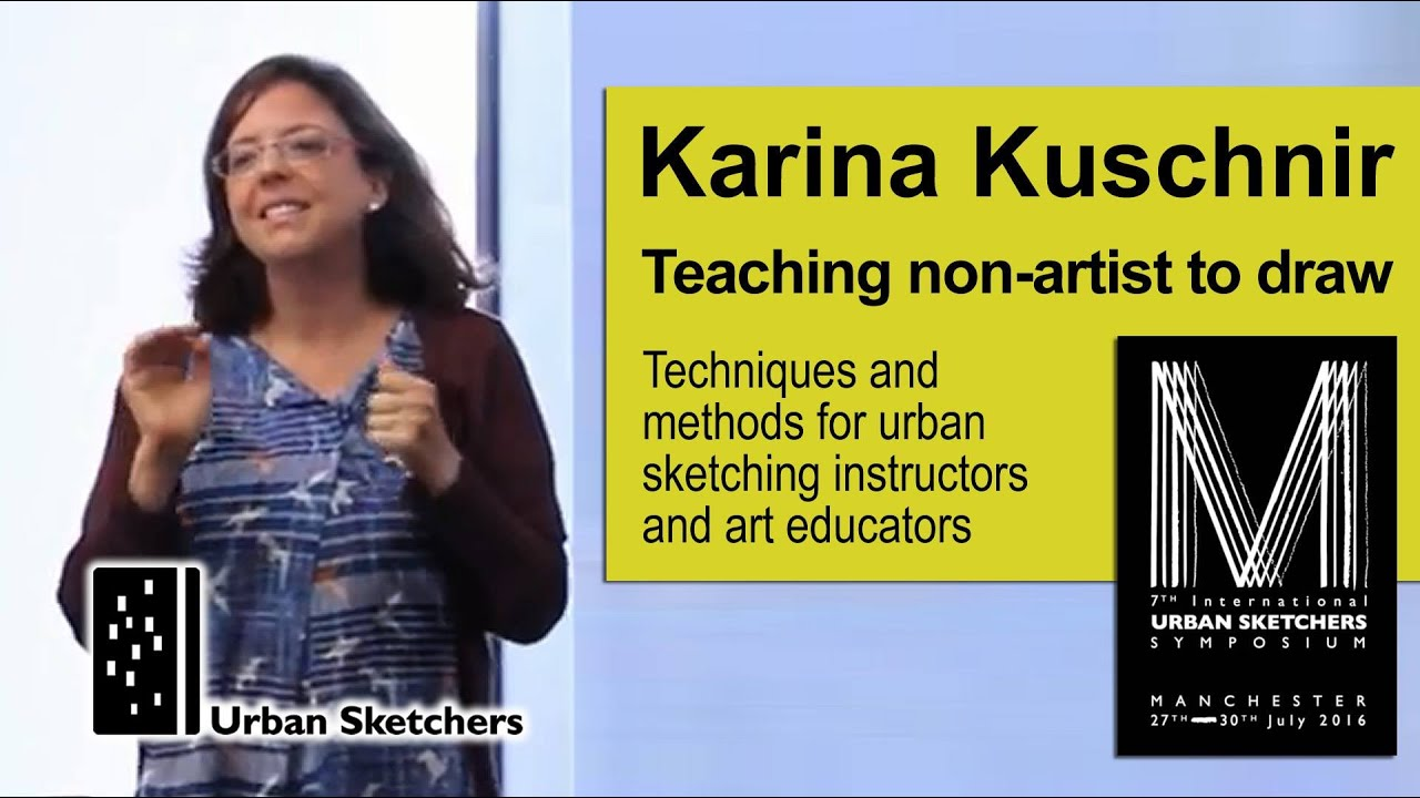 Art For Non Artists Teaching Non Artists To Draw Karina Kuschnir Youtube