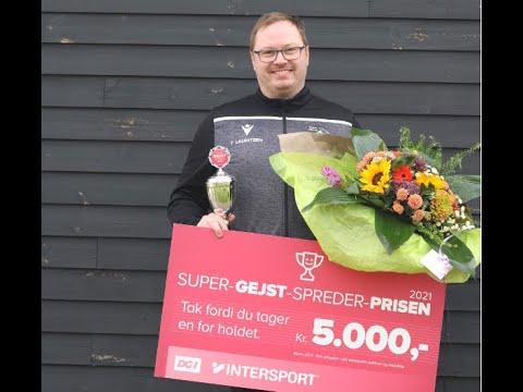 Tommy Lauritzen vinder Super-Gejst-Spreder-Prisen i Sydøstjylland