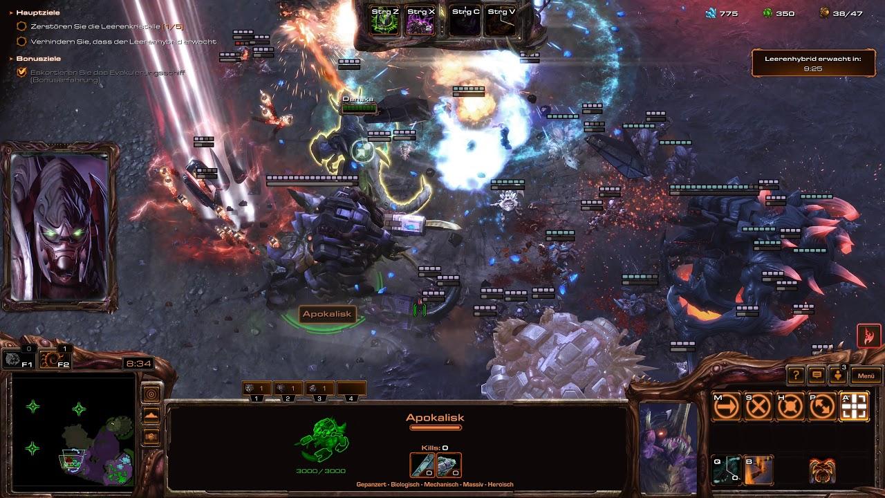 Starcraft 2 Coop Brutal Random Leveling (4K) Game 2