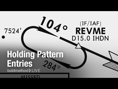 Holding Pattern Entries: Boldmethod Live