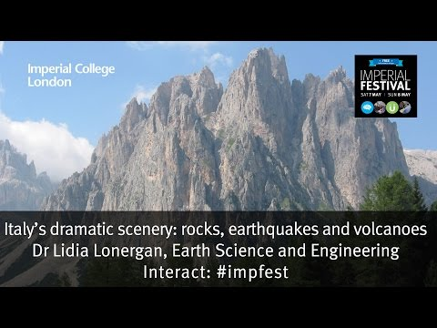 Italy's dramatic scenery: rocks, earthquakes and volcanoes