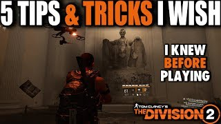 5 TIPS I WISH I KNEW BEFORE PLAYING THE DIVISION 2.... CREDITS, SKILLS, PERKS, MODS & MORE