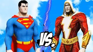 SUPERMAN vs SHAZAM - EPIC BATTLE
